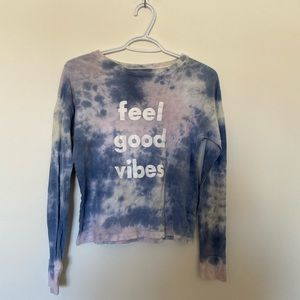 american eagle tie dye long sleeve